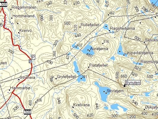 bynuten kart Bynuten (671 moh) bynuten kart