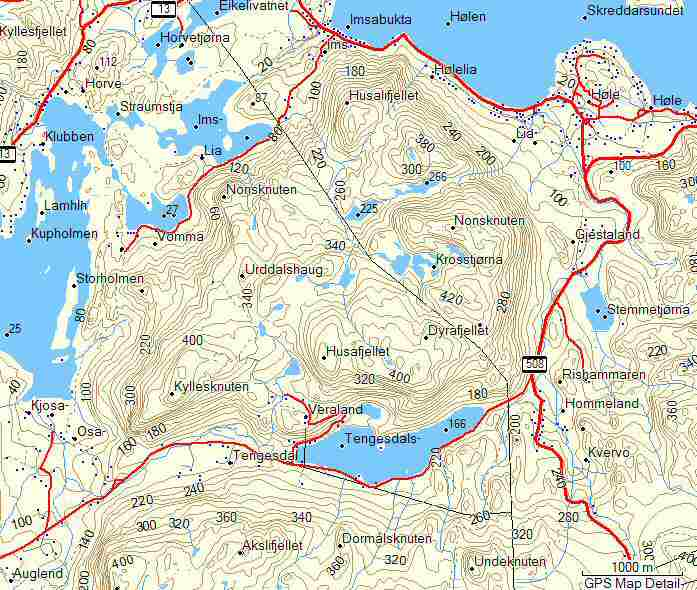 kart over sandnes Under 500m kart over sandnes